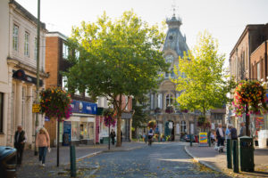Tiverton Town Centre
