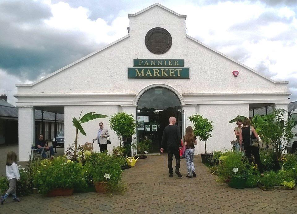 Tiverton Pannier Market Building (South End View)