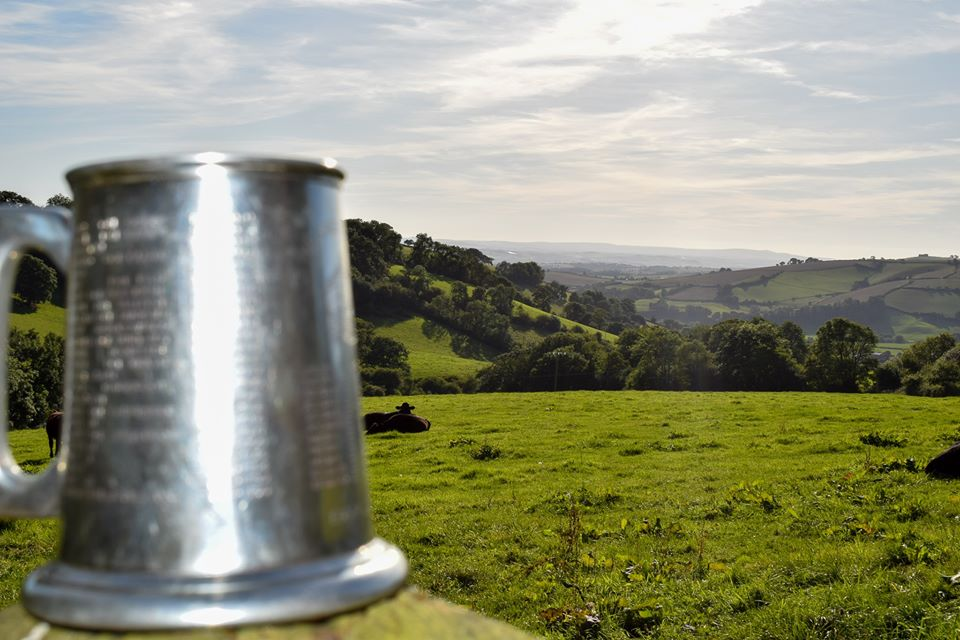 Beer Mug with view of Silverton Valley