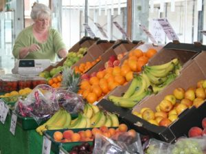 Fruit Stall at Tiverton Market