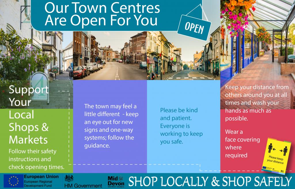 Town's Centre Open