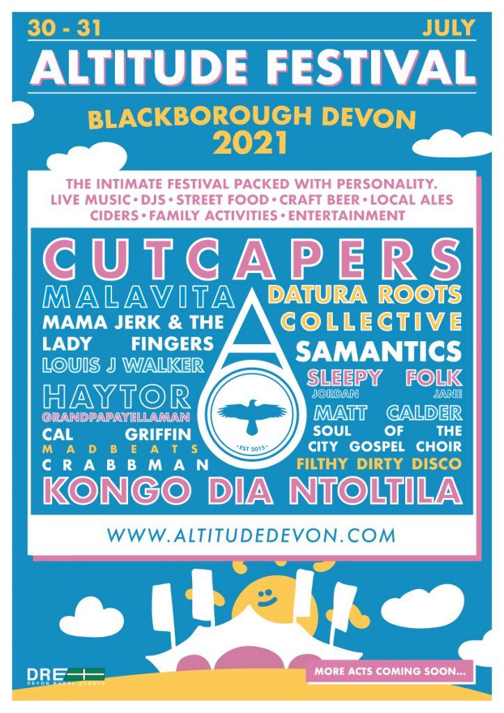 Altitude Festival Poster 2021