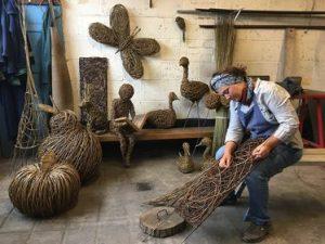 Vik Westaway willow sculptures
