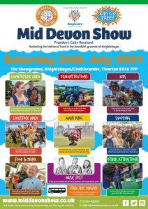 Mid Devon Show poster