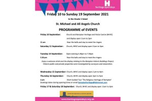 Heritage Open Days - St Michael and All Angels Church